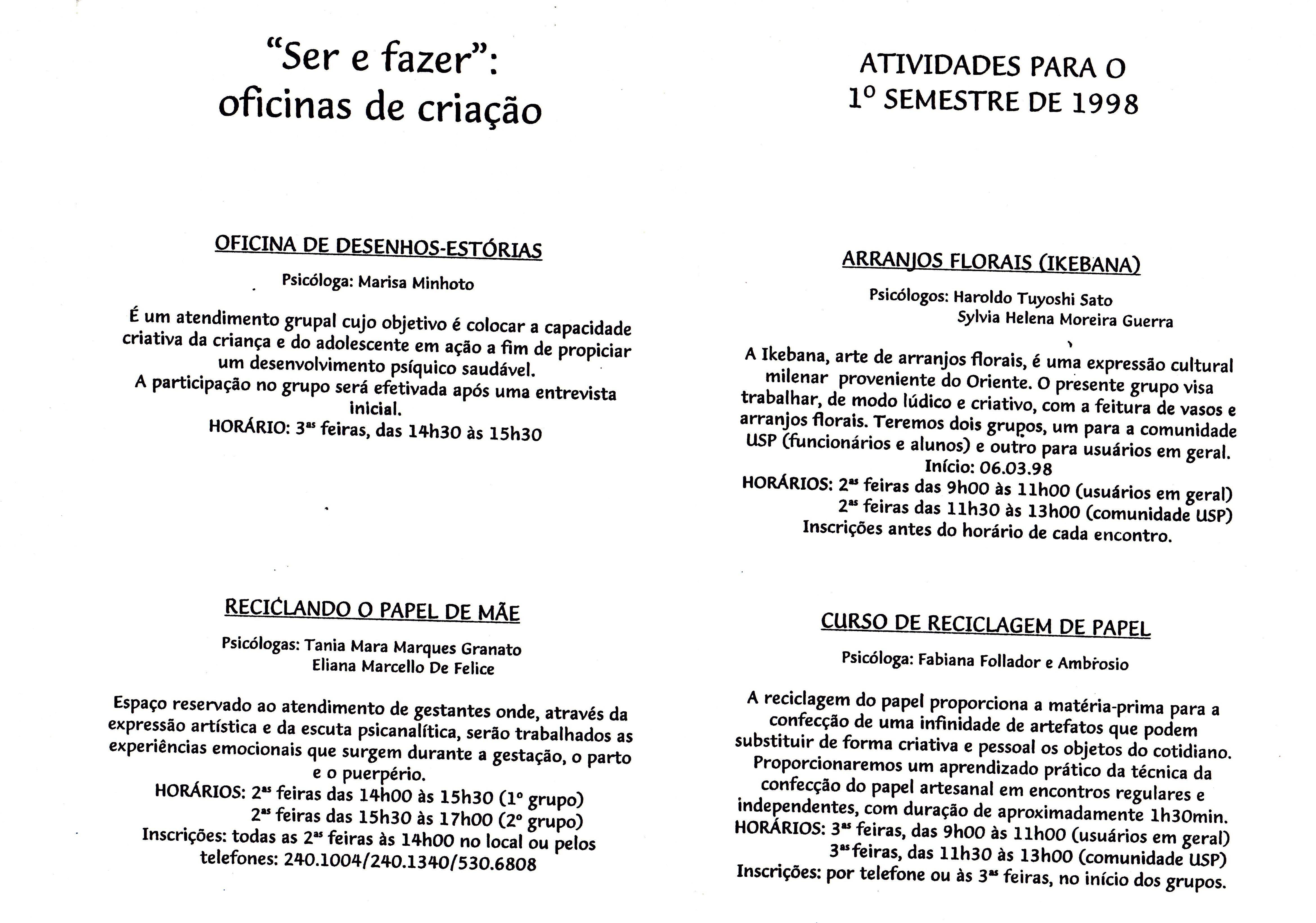 Laboratório Saúde Mental e Psicologia Clínica Social 20 anos 058